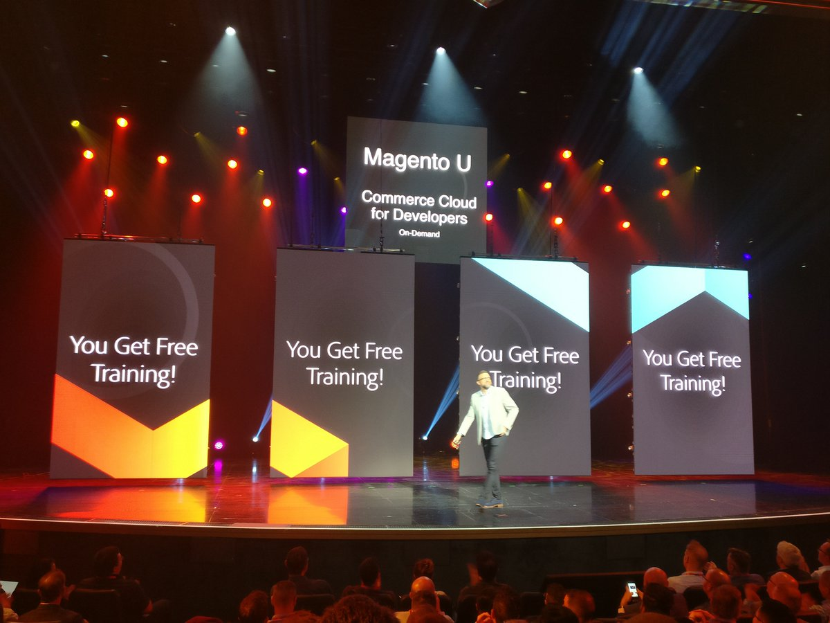 cmuench: Magento offers a free training for developers to dive into Commerce Cloud for the next 90 days.n#MagentoImagine https://t.co/S1Z7CWu9HQ