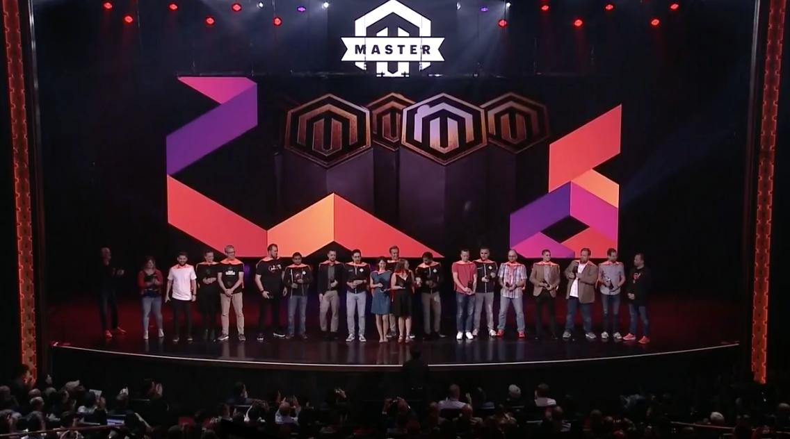 jhuskisson: Really really happy to see @RebeccaBrocton amongst the #MagentoMasters on stage at #MagentoImagine https://t.co/iAysMnIgIk