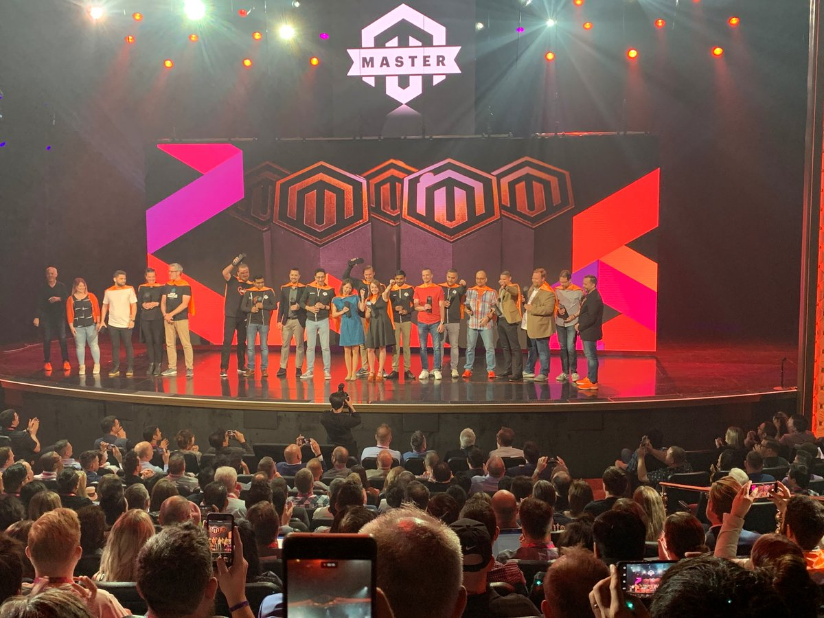 brentwpeterson: Congrats to all the @Magento Masters this year and of course our own @Vijaygolani #MagentoImagine https://t.co/9wzWqtopxy
