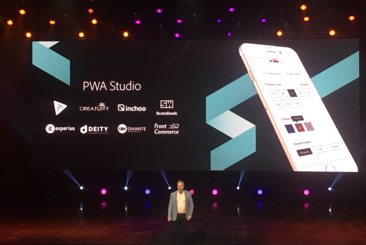 janakkika: Great to see @wearejh being recognised for the work we have done with PWA studio #magentoimagine https://t.co/FNfnHF35yK