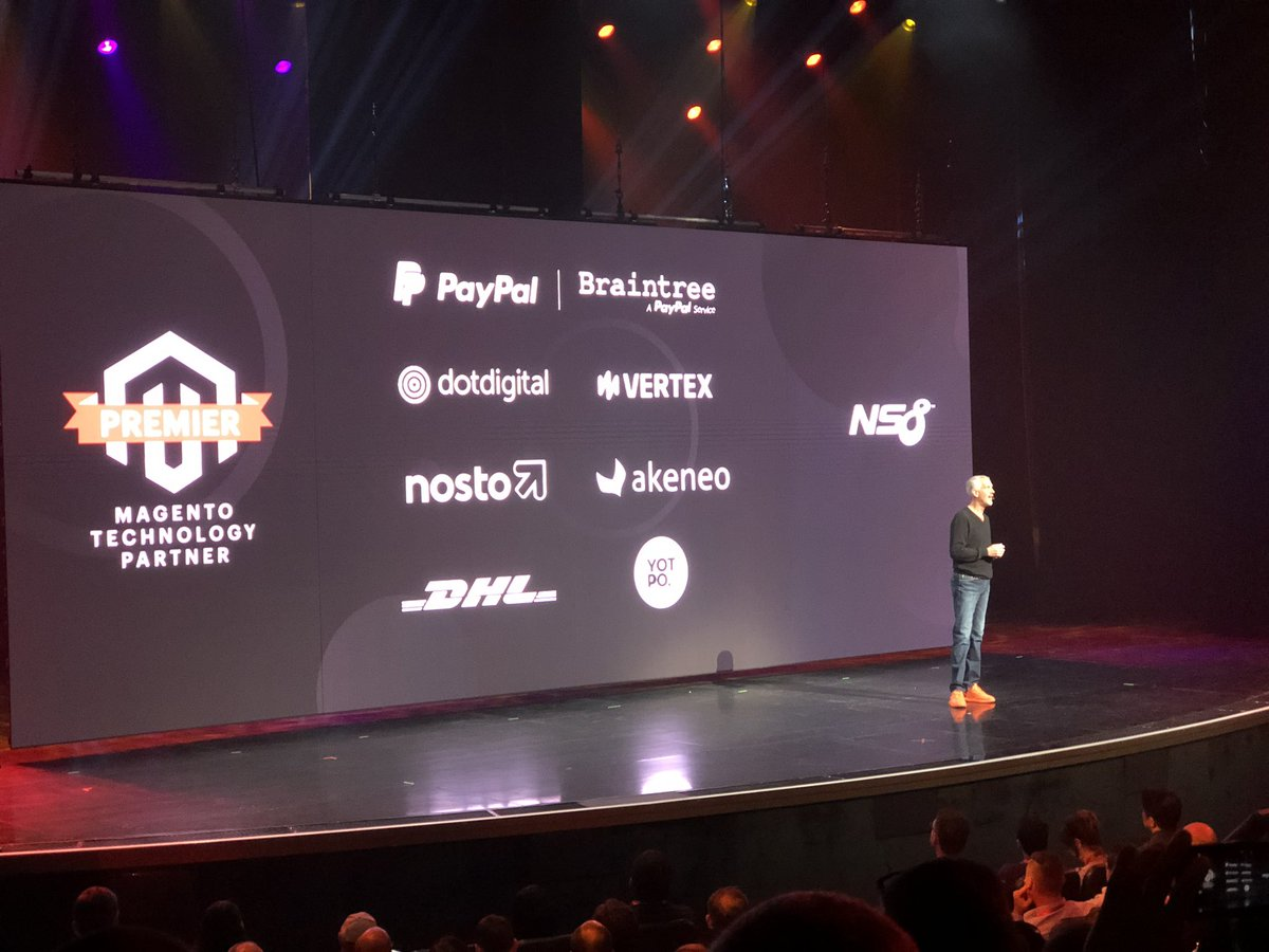 productimize: Welcome and congratulations @ns8inc. The new premier technology partner @Magento #MagentoImagine https://t.co/oYbkZVuJGL