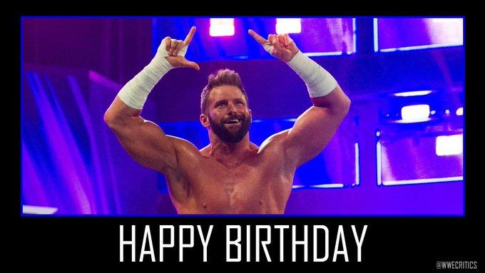 Happy 35th Birthday to Tag Team Champion Zack Ryder.