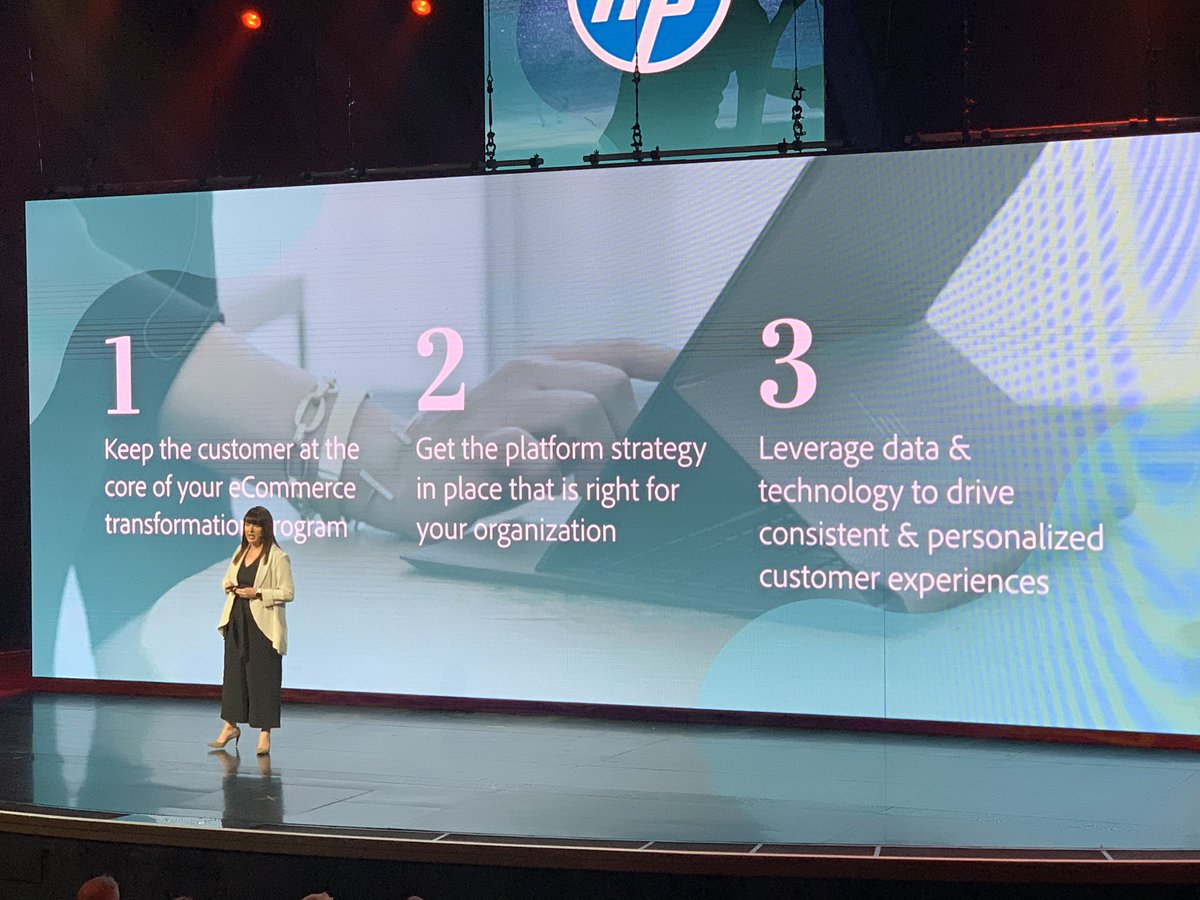 kenbausch: #MagentoImagine very nice presentation and summation from Gillian Campbell of @HP https://t.co/LRxzccQmtb