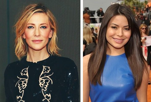 HAPPY BIRTHDAY !  Cate Blanchett  and  Miranda Cosgrove
