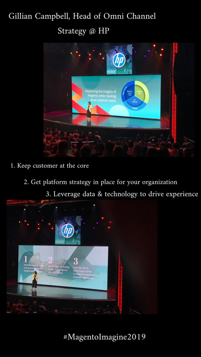 gaugeteam: Learned some key insights from the Head of Omni Channel Strategy @HP  today! 👏🏼👏🏼 #magentoImagine #roadtoimagine https://t.co/ELCuwKQnBP