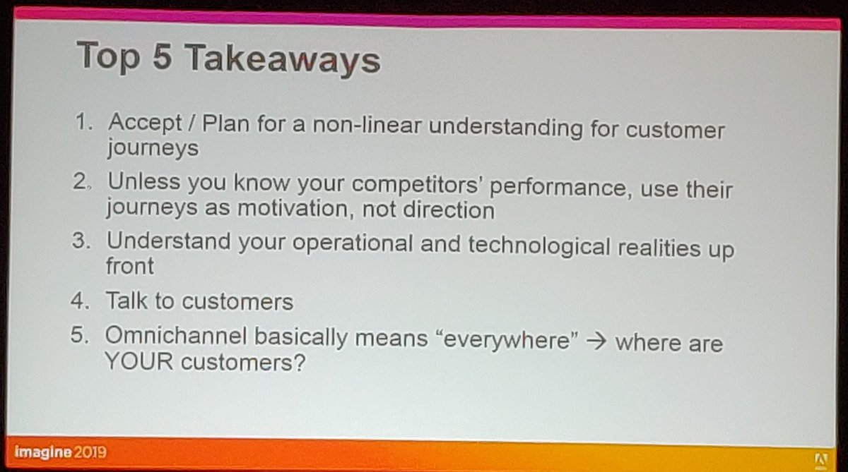 nexcess: 5 Takeaways from @agarimella, of @Magento, on creating a memorable customer experience. #MagentoImagine https://t.co/lehv9h3ZUq