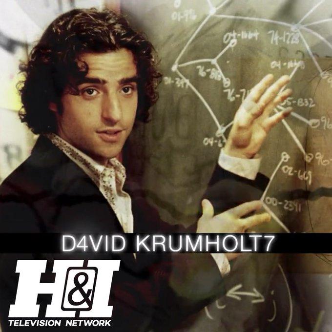 Happy 41st Birthday David Krumholtz!