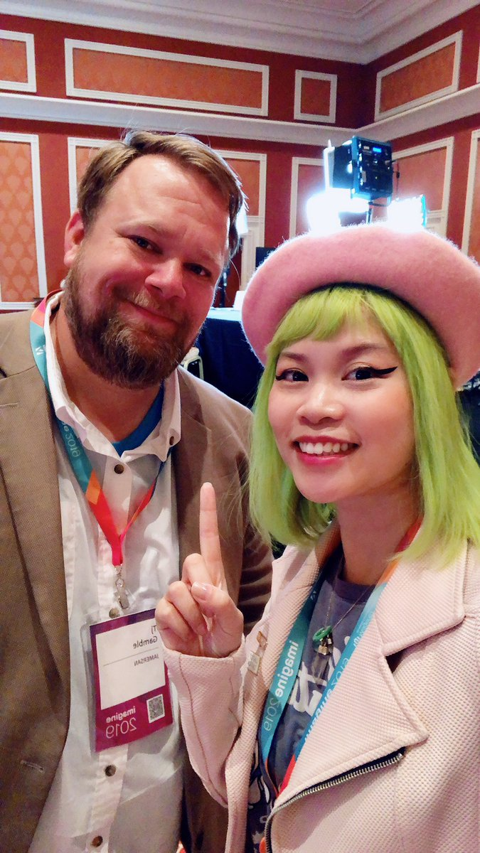 GoldieChan: Yay! @ecommerceaholic about to be LIVE on @magento x @Adobe! #magentoimagine https://t.co/F7dCCG65qS