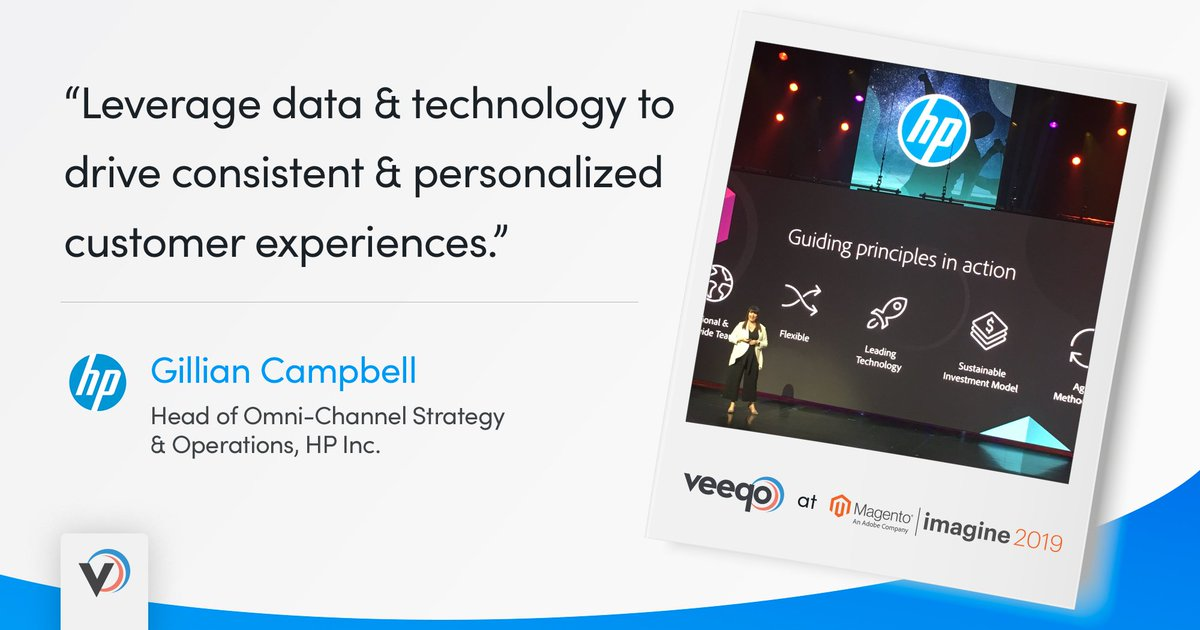 Veeqo: Great insight via Gillian Campbell from HP here at #MagentoImagine earlier today #omnichannel @campbellgi https://t.co/f102ddZkjw