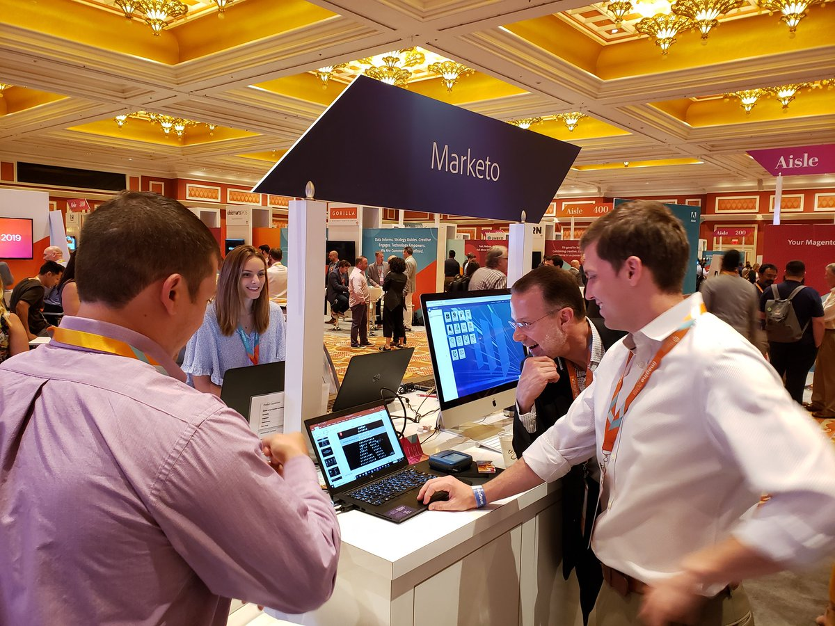 magento: Come meet the @marketo team at the @Adobe + #Magento booth! #MagentoImagine https://t.co/mf22J48H8N