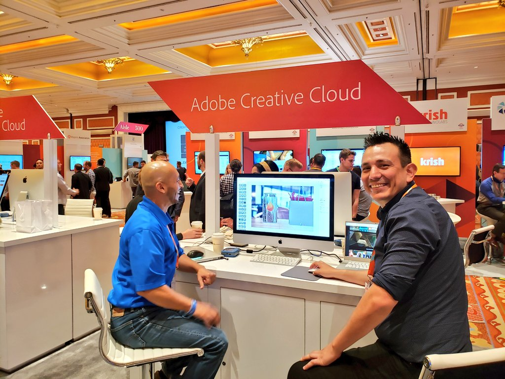 magento: Jesus @JRfromPTC can answer your @creativecloud questions the @Adobe + #Magento booth at #MagentoImagine 🙌 https://t.co/TfgG8ei0cr