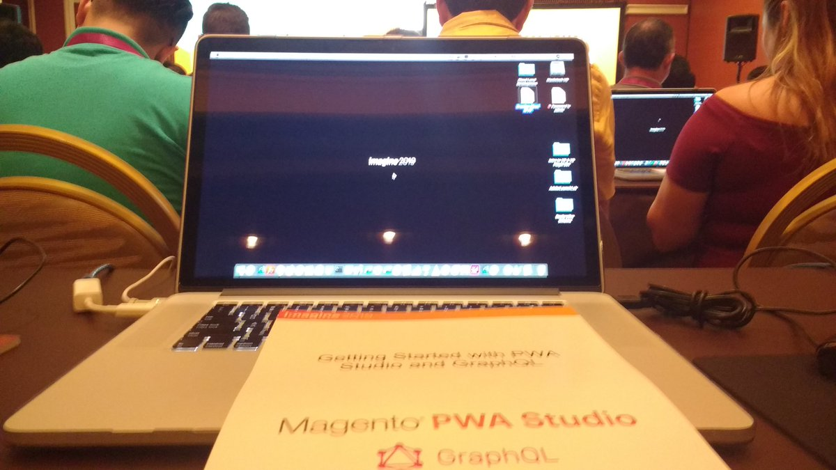 avstudnitz: Happy to get into the PWA Studio lab. Looking forward to some hands-on experience. #MagentoImagine https://t.co/cCNKQikSZJ