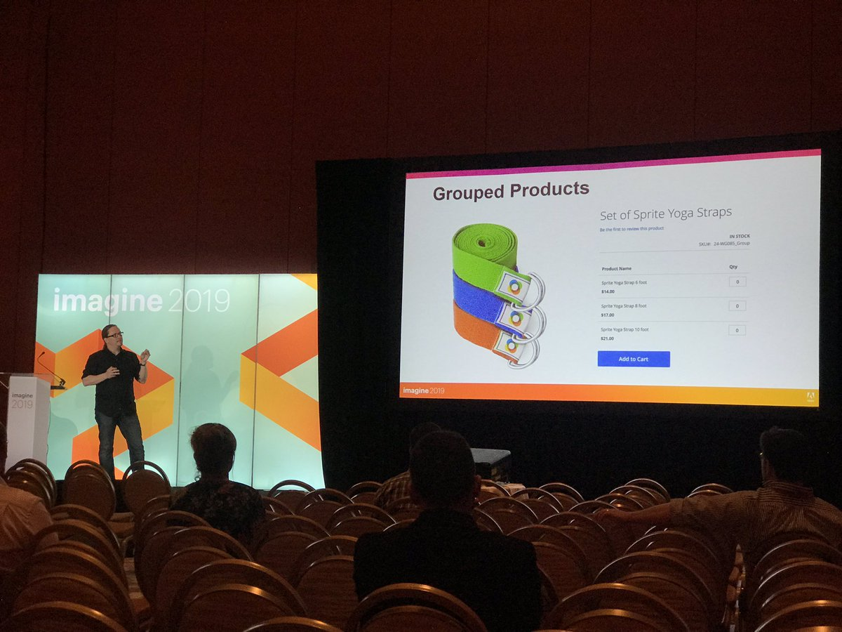 _Talesh: Psy @DavidDeppner is sharing the secrets of how Google sees your ecommerce store at #MagentoImagine https://t.co/oOwn4zD57j