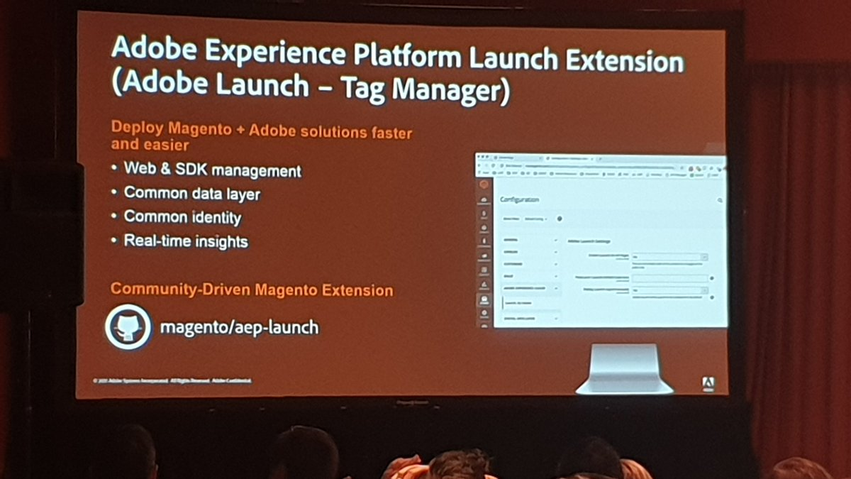 guido: New open source Magento extension to connect Adobe Launch to your Magento store #MagentoImagine https://t.co/w5AfcchQNB