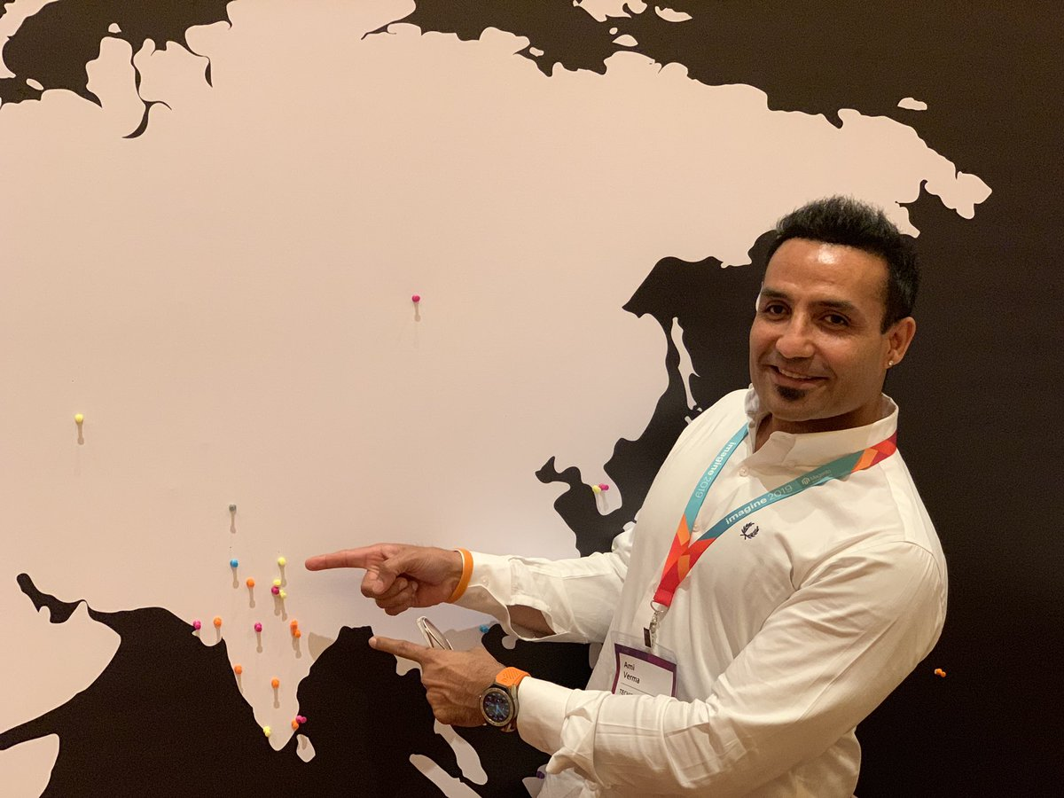 miverma: Just put @techiesindiainc Ludhiana, Punjab on #AdobeForAll map. We all are going to be famous soon 🤓 #MagentoImagine https://t.co/b1m6lyjOiV