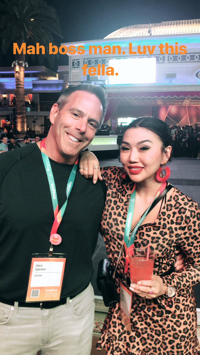 LathamSuzie: Luv mah bossman! Thanks @gspecter for being awesome! #magentoimagine https://t.co/dBq5OgnB6Y