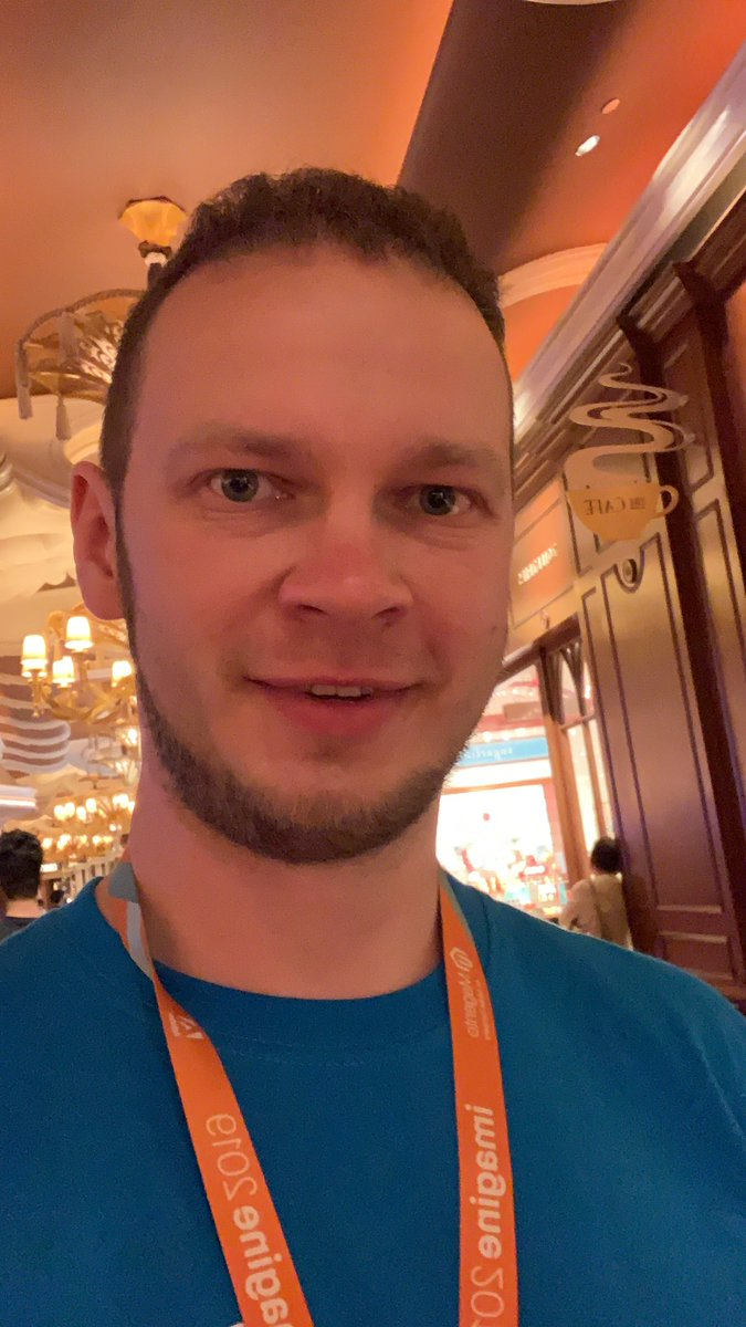 max_pronko: Happy to have some drink with you at #MagentoImagine https://t.co/j6mQSilHHW