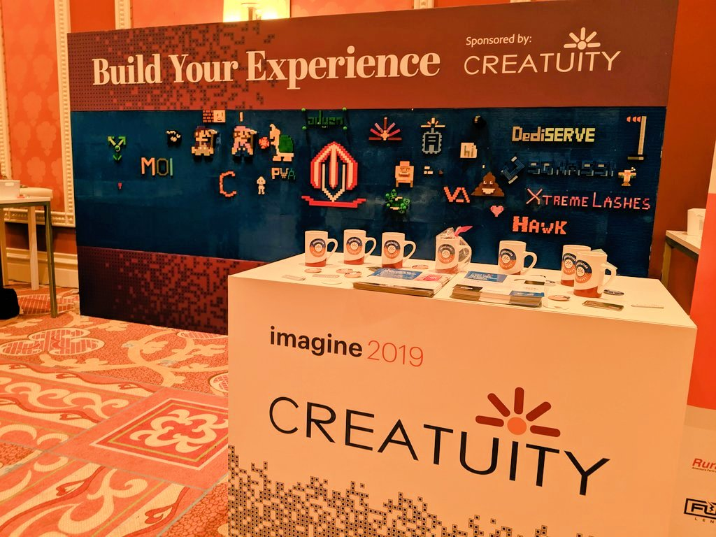 psybermeg: I love seeing what @Creatuity comes up with every year... #MagentoImagine https://t.co/xmNNoaf703