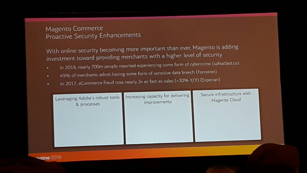 jissereitsma: Cc @_Talesh @gwillem @ext_dn @RicTempesta #MagentoImagine funding to improve security https://t.co/OuTy1ZDIMj