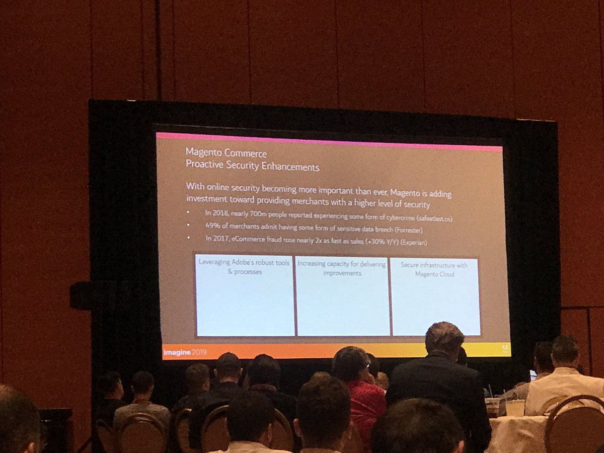 _Talesh: My 🧡 is full listening to all these security improvements coming to Magento. nn#MagentoImagine https://t.co/dE3ZdfLRHU
