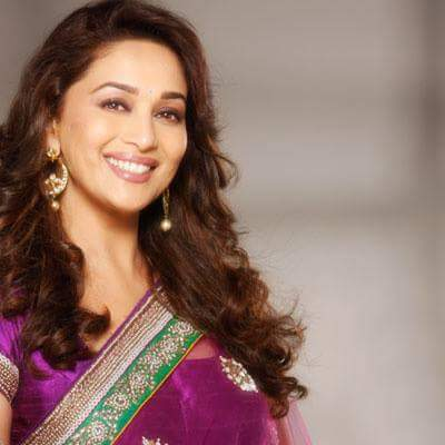 Happy birthday to the most beautiful person in the world Madhuri dixit...