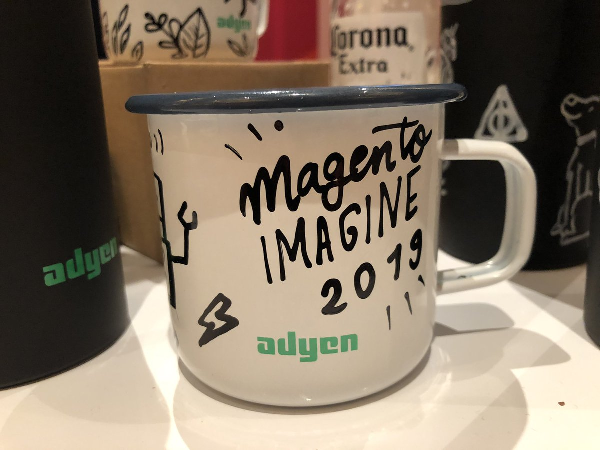 sherrierohde: Check it out, @Adyen is custom designing swag at their booth! 😍 #MagentoImagine https://t.co/isIC4thm3K