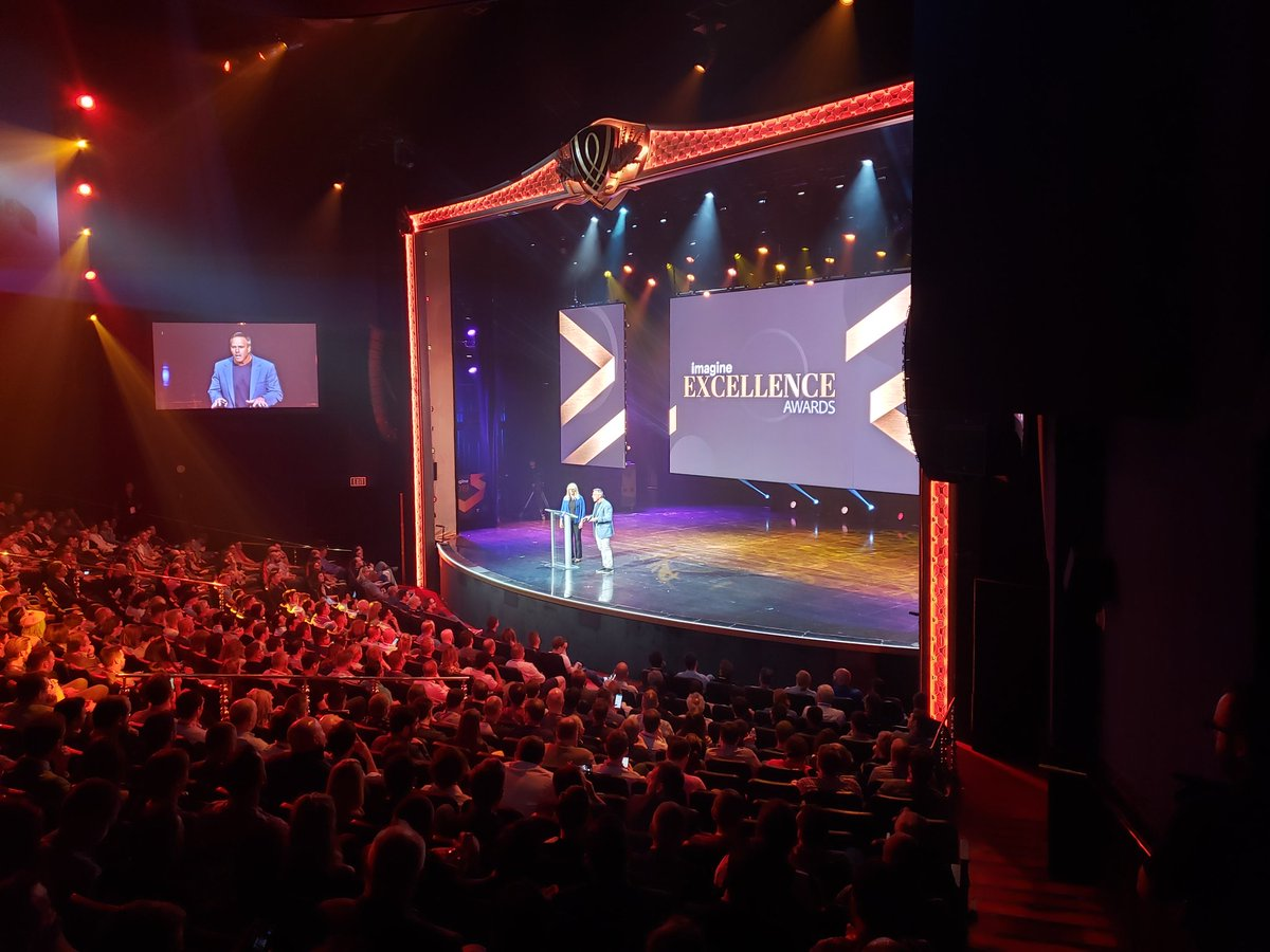 magento: #ImagineExcellenceAwards starting now at #magentoimagine! https://t.co/A8Aoq9Rzq3