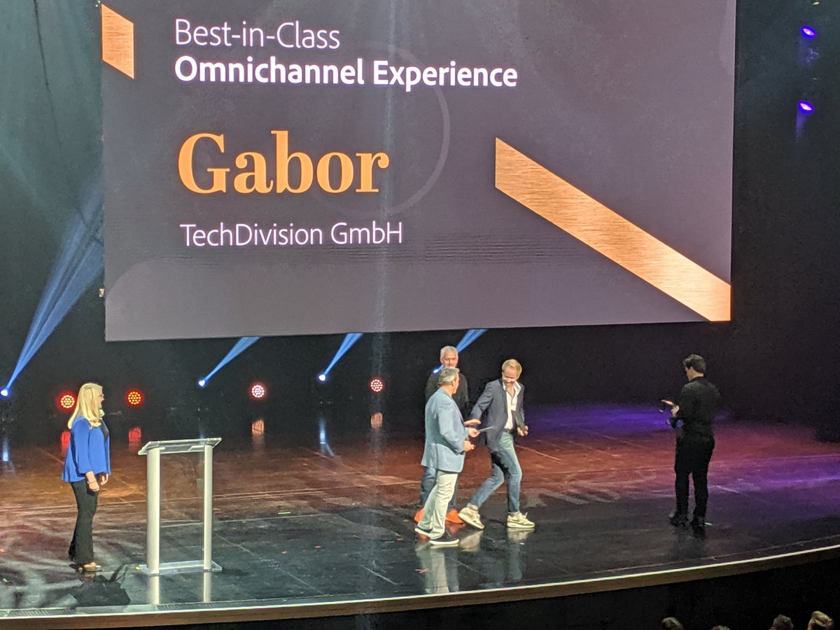 belbiy: Congrats Gabor for best in class omnichannel experience. #MagentoImagine #imagine2019 https://t.co/pJqrbYYqiO