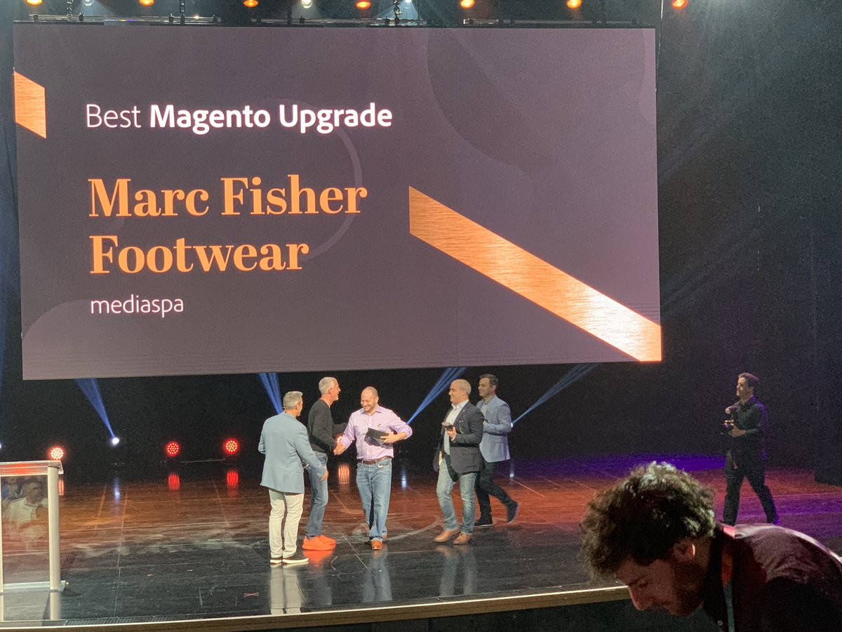 kenbausch: #MagentoImagine congratulations to our partner @mediaspa and customers on their awards!!! https://t.co/pkOnFyvfNm
