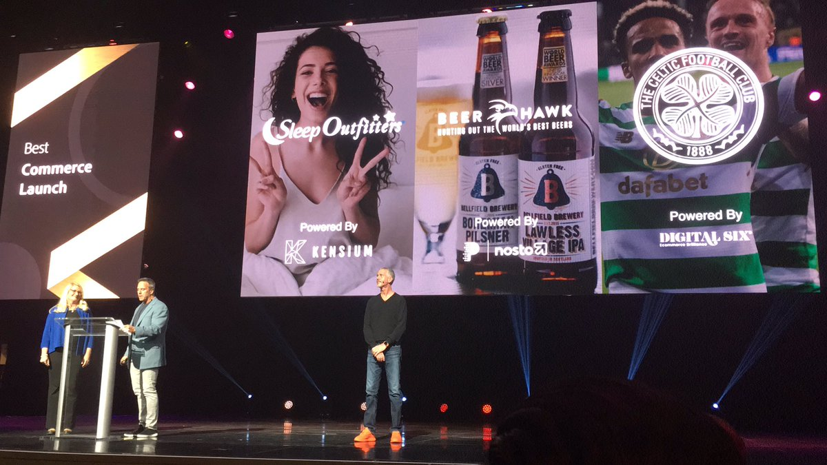 blackbooker: Best commerce launch award goes to Sleep Outfitters!!!  #MagentoImagine #ImagineExcellenceAwards https://t.co/gmBZHm8VYX
