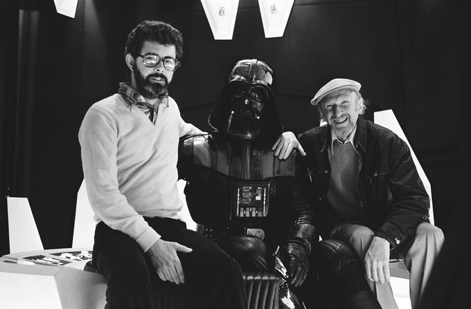 Happy Birthday To One Of The Inspirations Behind Slice Wrestling, George Lucas.