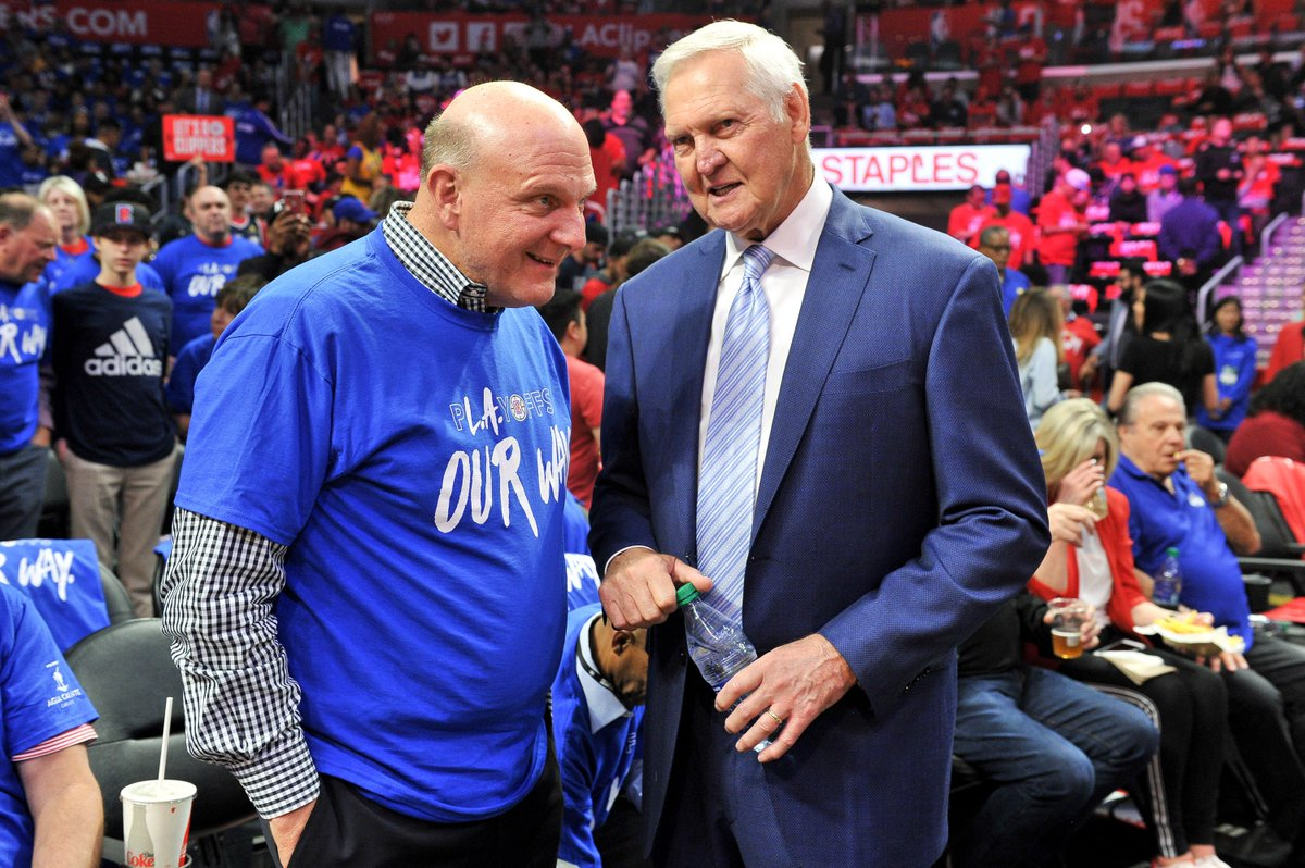 Jerry West Staying with Clippers