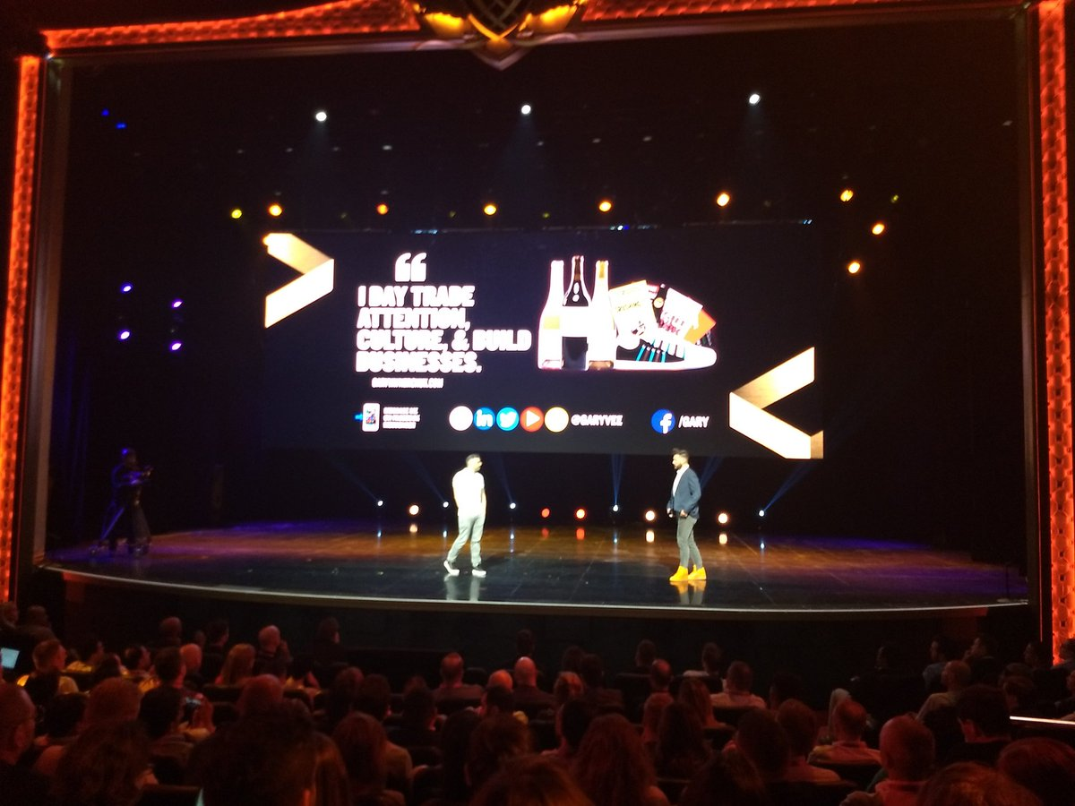 aleron75: 'Be a publisher more than an advertiser' ~ @garyvee speaking to b2b and b2c companies at #MagentoImagine https://t.co/athvm702vW