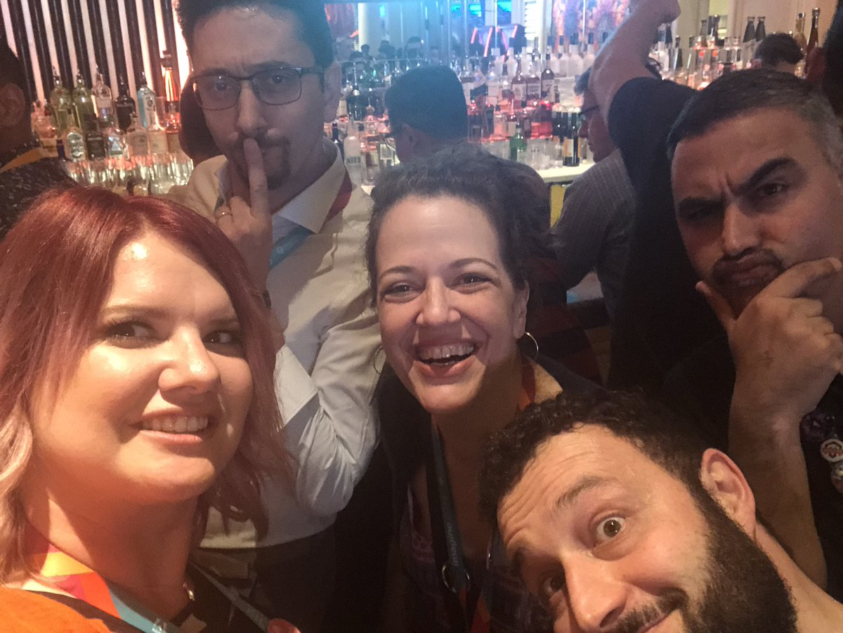 sherrierohde: Rolling deep at the Legendary party! #MagentoImagine https://t.co/ALVVCwrtGy
