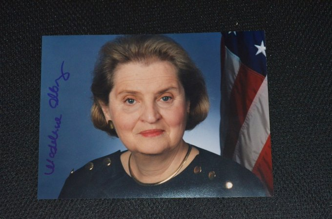 Happy Birthday, Madeleine Albright!