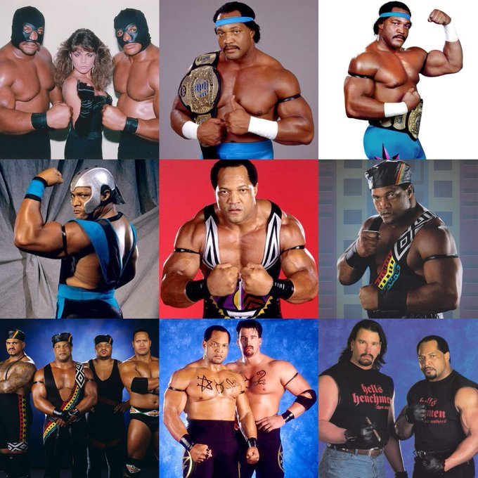 Happy birthday to former World Champ and HoFer Ron Simmons