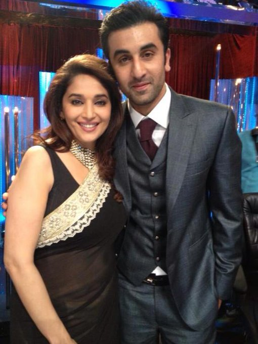 Happy Birthday Ranbir\s favorite.. His childhood crush, Forever Gorgeous Madhuri Dixit
