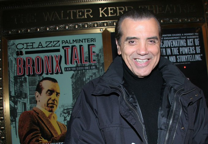 HAPPY BIRTHDAY CHAZZ PALMINTERI - 15. May 1952.  New York City, New York, USA