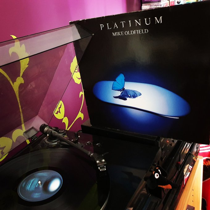 Happy Birthday Mike Oldfield *66*! Platinum (Virgin/1979)