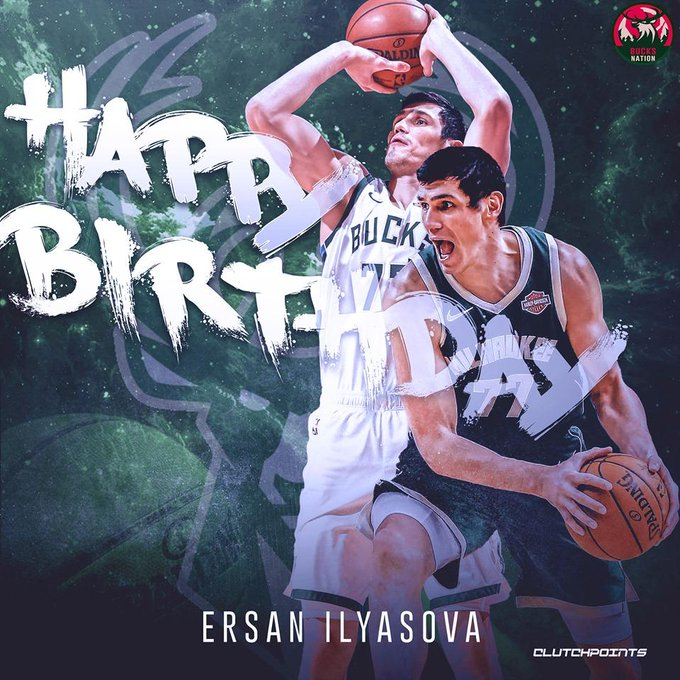 Join Bucks Nation in wishing Ersan Ilyasova a happy 32nd birthday!