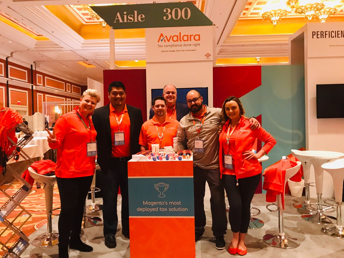 avalara: Today is the last day of #MagentoImagine 2019, so come and meet the Avalara team if you haven't already! https://t.co/yzjwaBubof