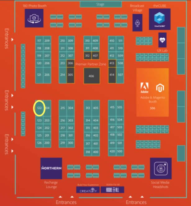 blueacornici: There's still time to stop by and say hi! 👋 Stop by and see us at booth 122! #MagentoImagine https://t.co/oyzKALQkps