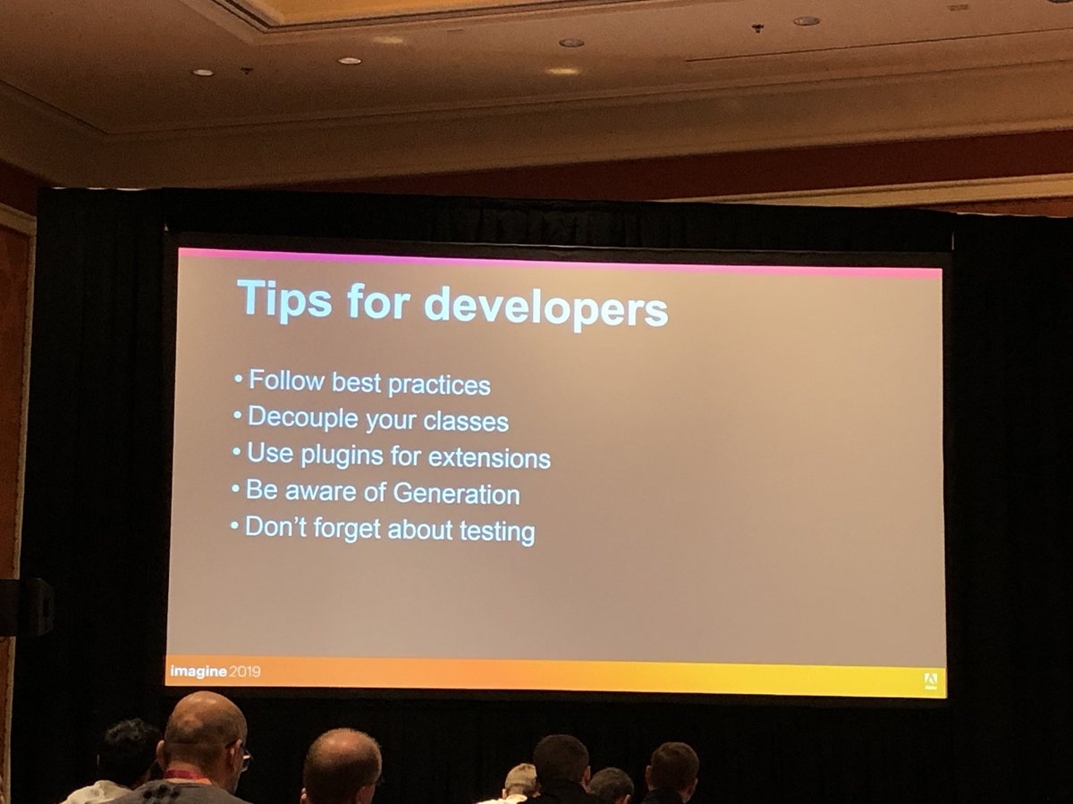 D_n_D: [#MagentoImagine] Technical - nTips for developers by @olehposyniak from @magenton#eCommerce #RealMagento #Magento https://t.co/P5bhosYZrM