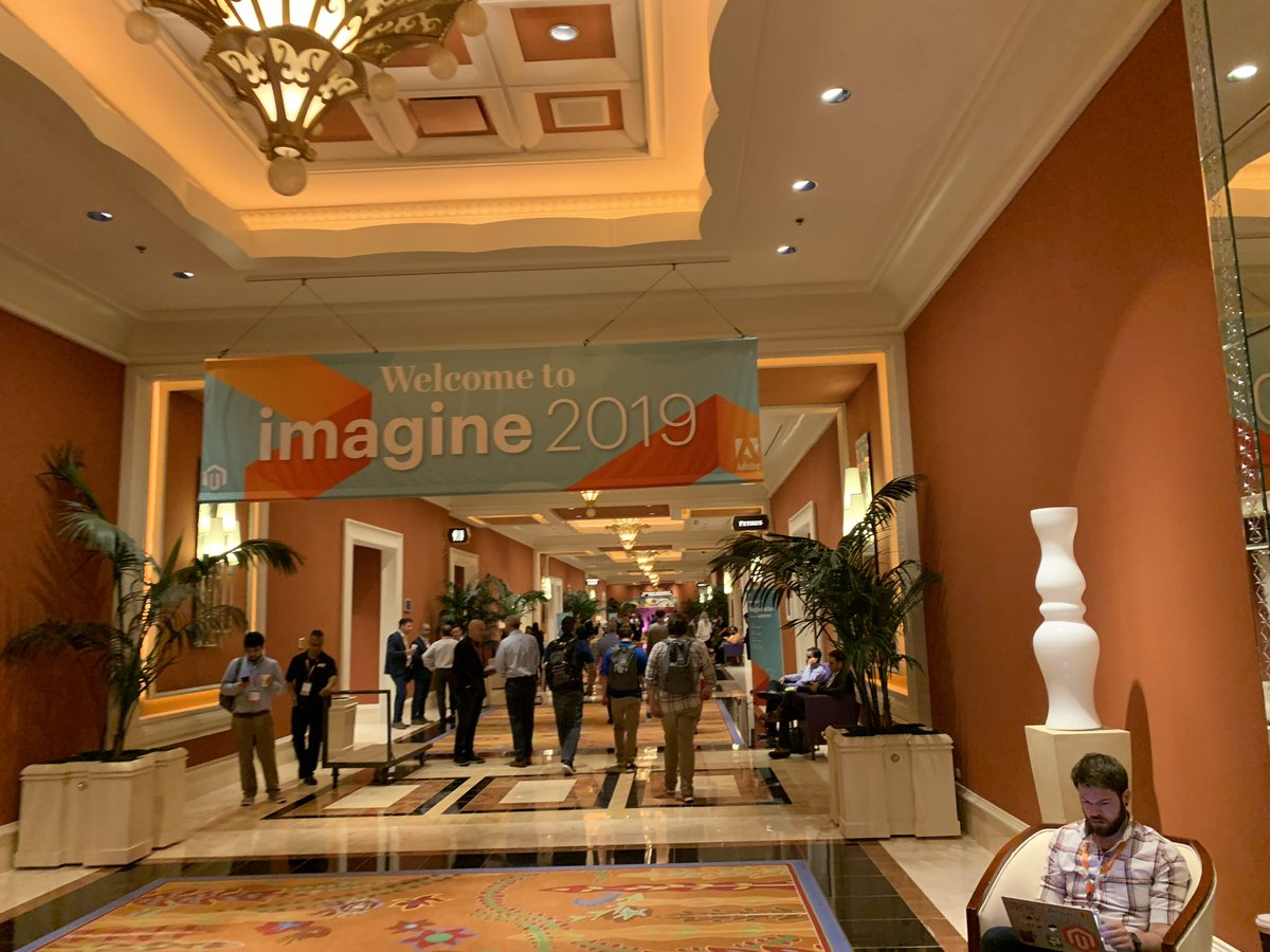wsadaniel: Thank you @magento for another memorable #MagentoImagine! I guess we'll be back next year 😉 https://t.co/5QaDh0yWeX