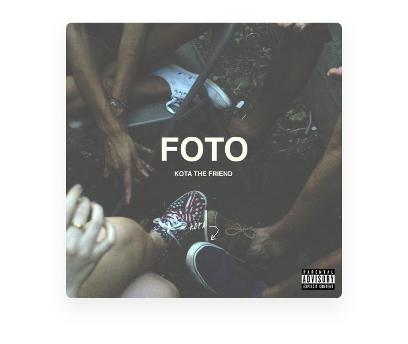 Warriors!  Click the link to stream @KotaTheFriend new album 'FOTO'????  https://t.co/MUNYcAmLUk https://t.co/68Ers34c56