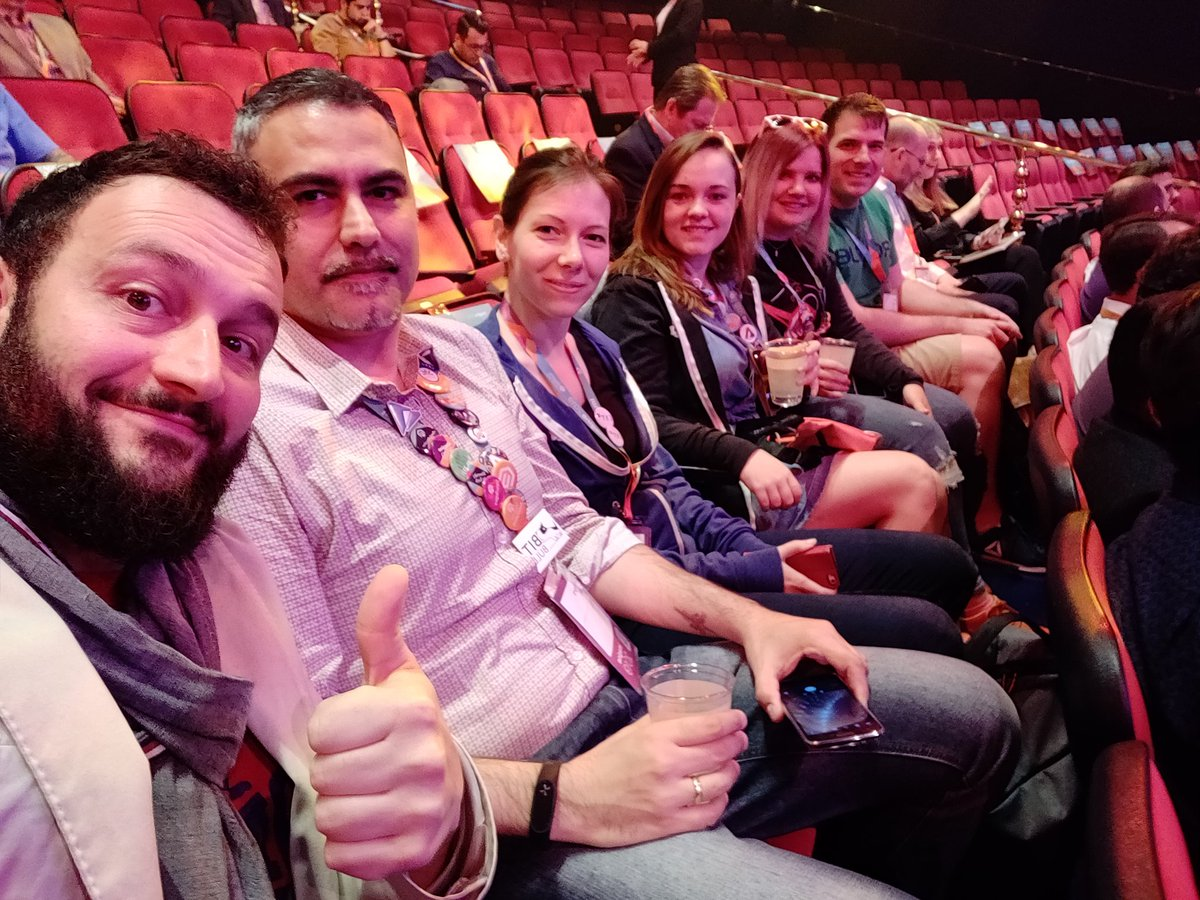 midimarcus: Ready for last and likely most interesting general session of #MagentoImagine 2019 cc/ @magespecialist @Bitbull_it https://t.co/FZGq98VSXa
