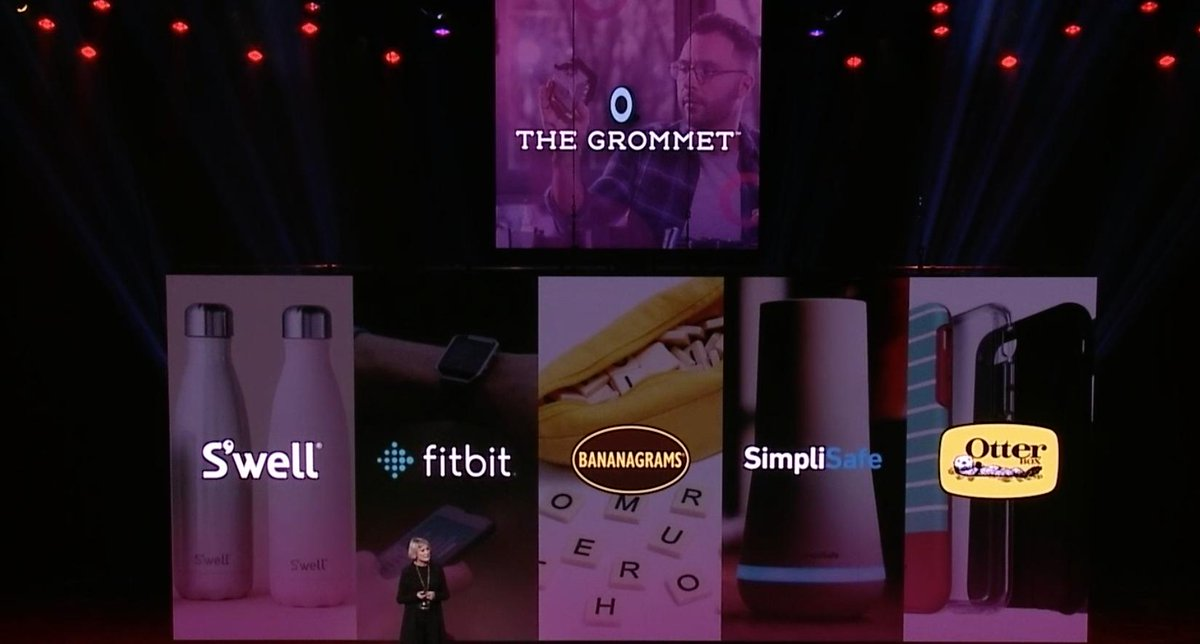 emily_a_wilhoit: Wow! I had no idea all of these brands started on @TheGrommet  #magentoimagine https://t.co/RvDUHOxIP5