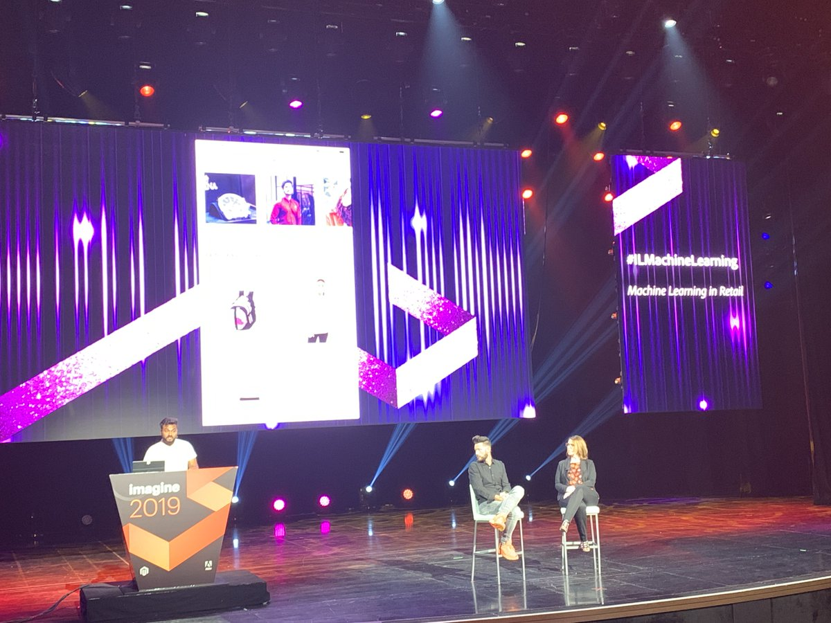 brentwpeterson: Machine learning from Webkul at  #MagentoImagine and #MageSneaks Happening in REAL TIME!! https://t.co/UOOks21znQ