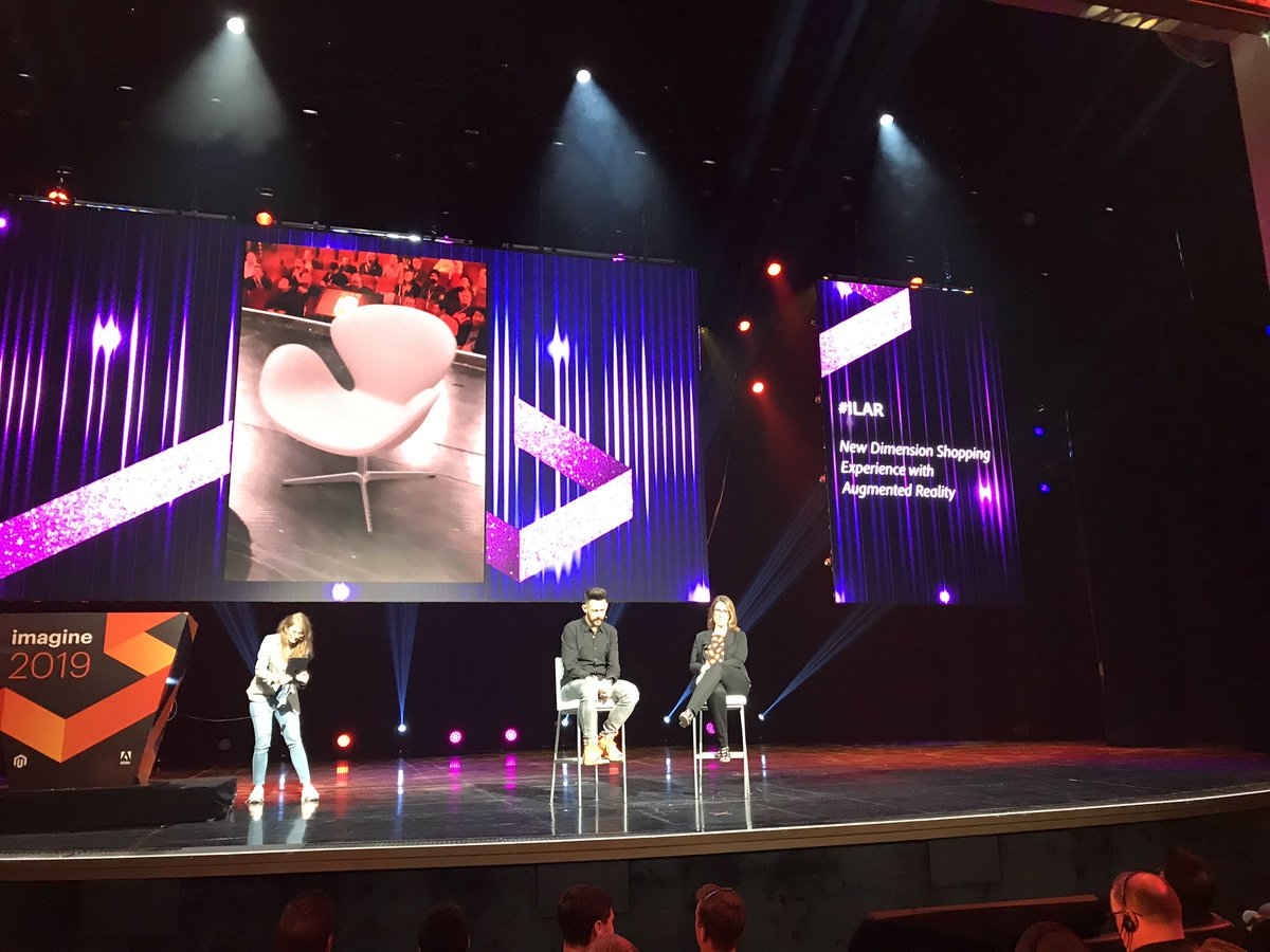 SkellyTweeter: Mind BLOWN 🤯. #ILAR ...  I no longer want a flying car. This is the future I need. @Creatuity at #MagentoImagine https://t.co/KR3rPIiZAn