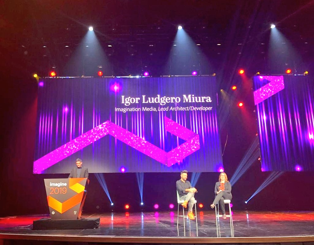 imgmage: #ILAeroAR: sneak of what the future of #eCommerce holds with @igor_lm at #MagentoImagine. https://t.co/dhItcRFTl4